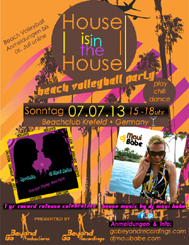 House is in the House - beach volleyball party