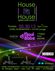 House is in the House with dj Maui Babe