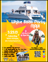 White Boat Party Maui 2013