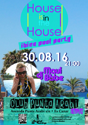 House is in the House - Ibiza Pool Party 2016