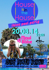 House is in the House - ibiza pool party